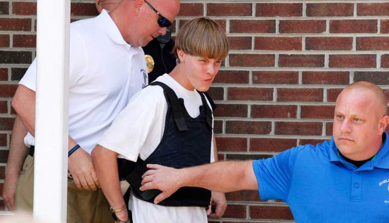 Dylann roof charleston shooter 2