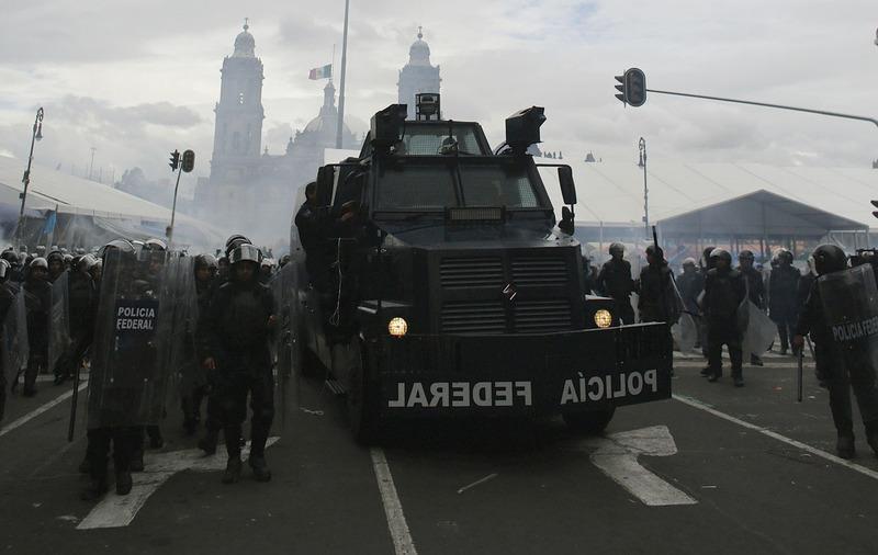 Reu mexico3567856 teachers clashes