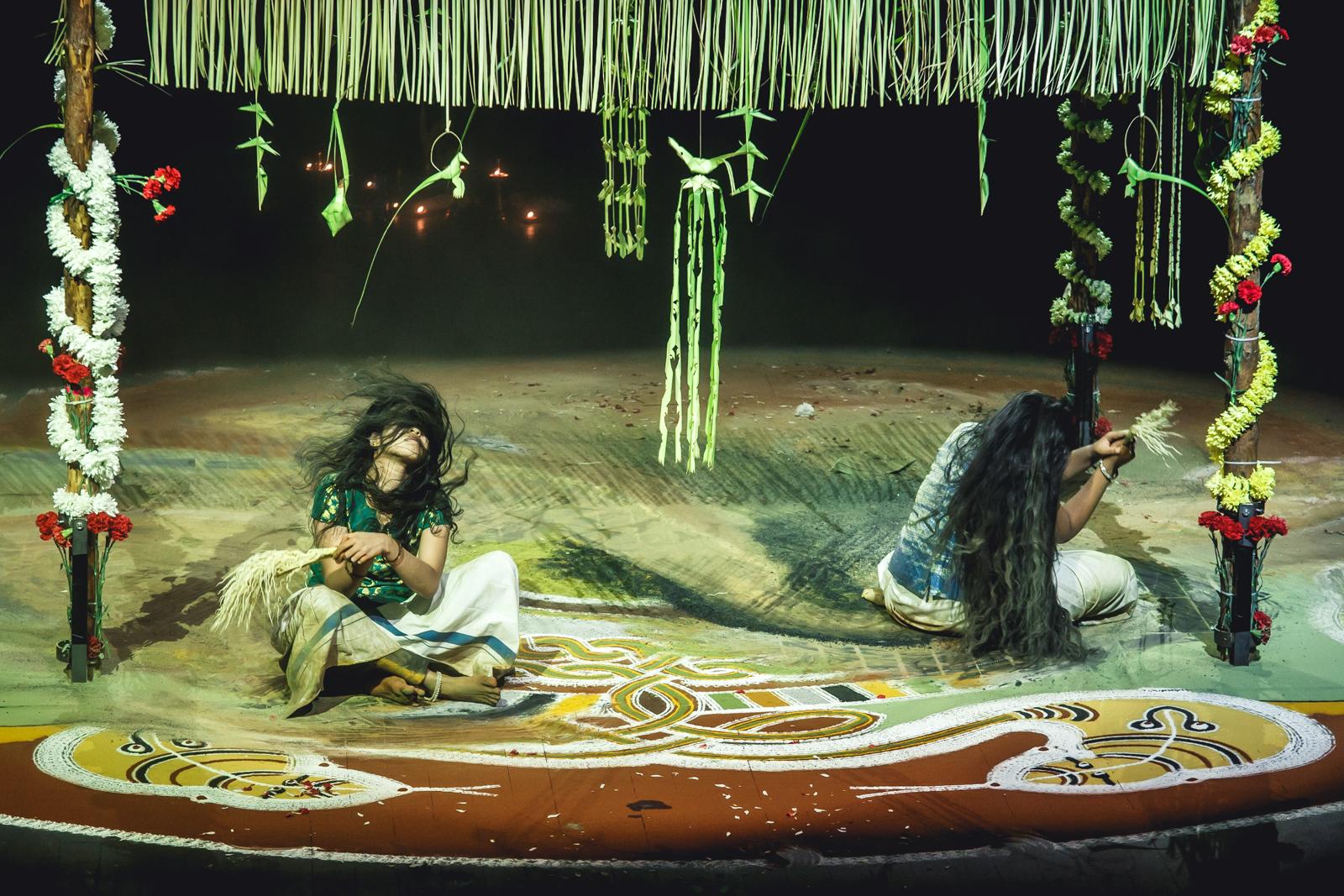Sarpam thullal brave festival 2014