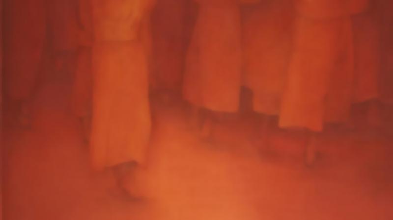 Saffron robes5