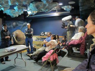 Photos from Iqaluit screening