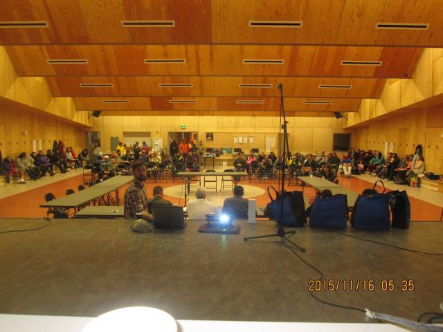 Baffinland meeting. part 1, Igloolik