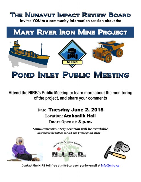 June 2nd 2015 Community Information Session