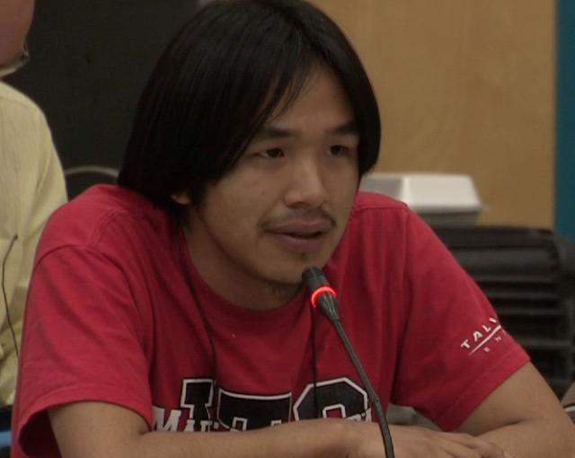 Curtis Taqqaugaq, NIRB Community Roundtable, July 25, 2012, Igloolik, 6:04 original English