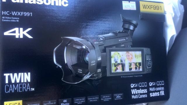 4K Panasonic Camera Added to Creative Tools