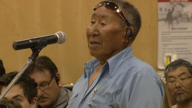 ᓂᐲᑦ ᐃᓄᒃᑎᑐᑦ Louie Uttak NIRB Community Roundtable, July 23, 2012, Igloolik, 5:58 Inuktitut