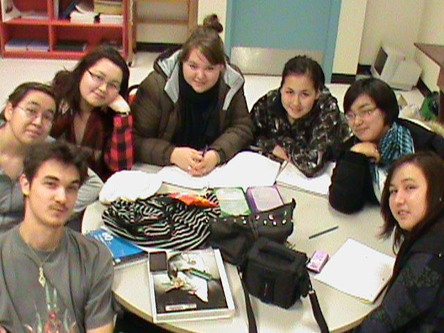 Les étudiants Inuit de Marie-Victorin