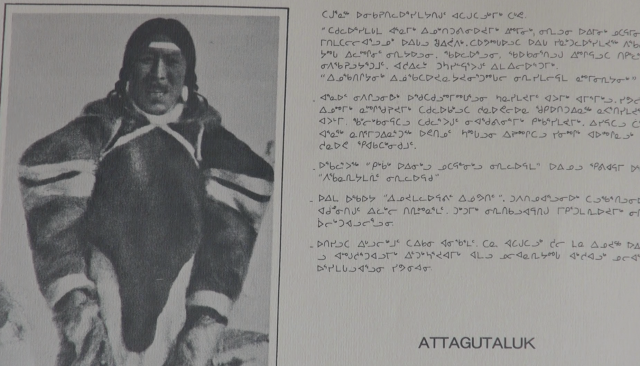 ATTAGUTALUK OF IGLOOLIK