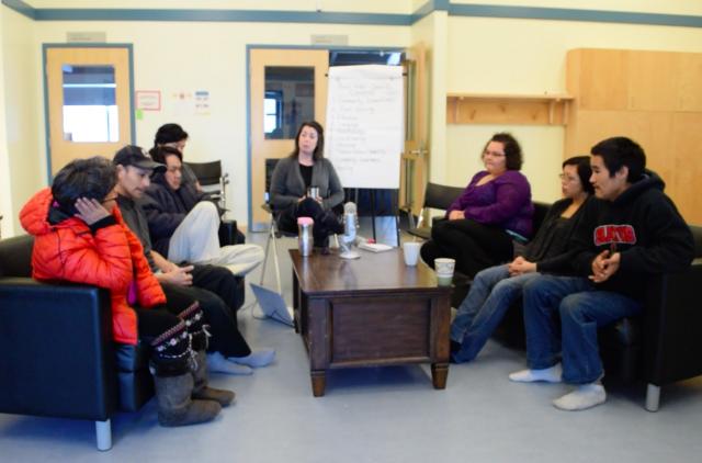 Pond Inlet Youth Workshop