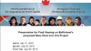 Link to: Aboriginal Affairs and Northern Development Canada Presentation - English