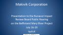 Link to: Makivik Corporation Presentation - English