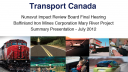 Link to: Transport Canada Presentation - English