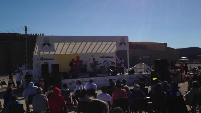 Kiliniik Band @ KIA'a 40'th Anniversary Nunavut Day Celebrations.