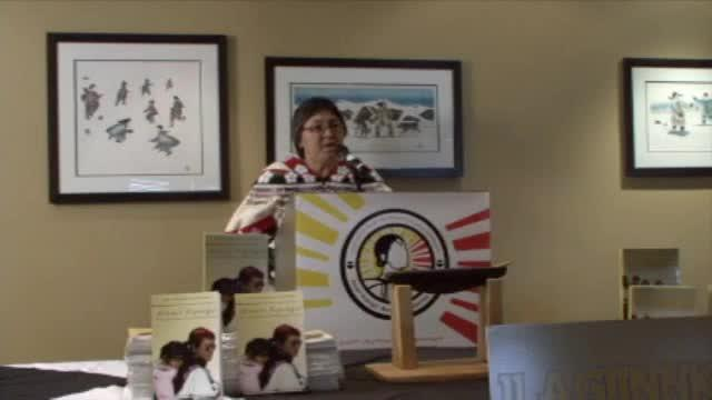 Book launch of ARNAIT NIPINGIT, Voices of Inuit Women in Leadership and Governance