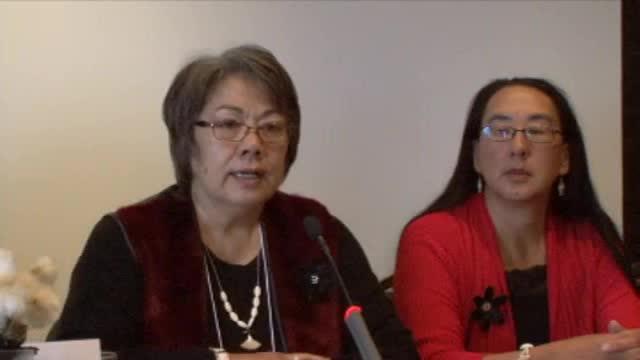 Honourable Eva Aariak, Premier of Nunavut