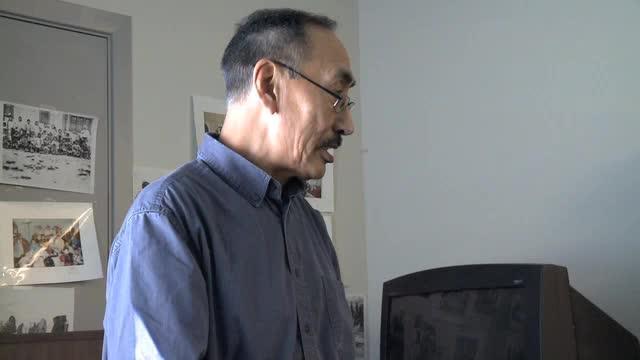 Screening at Pangnirtung Elder Centre