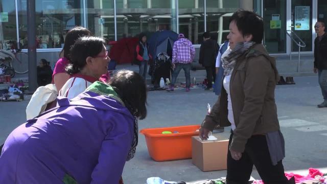 Visit to the flea market