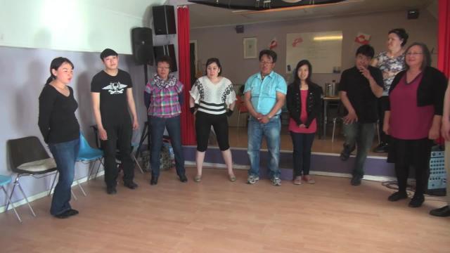 Singing at NAIP