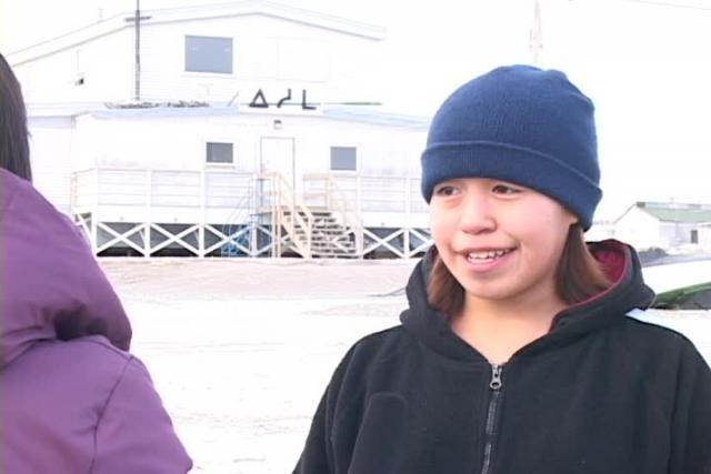 Conversations and rehearsing in Igloolik