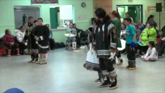 Drum Dance in Cambridge Bay