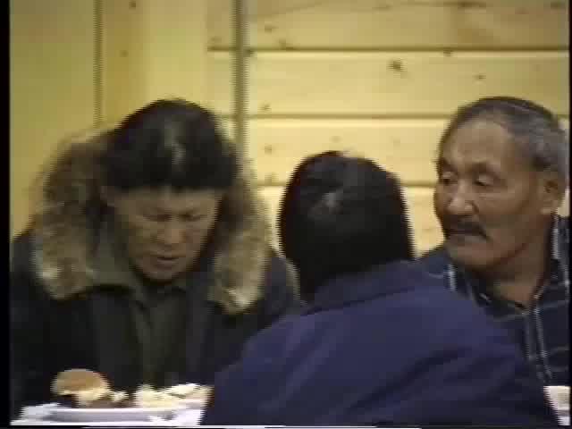Arviat Elders Feast 1990