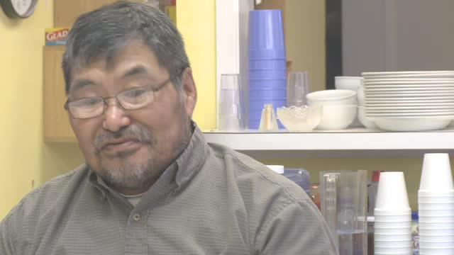 ᓂᐲᑦ ᐃᓄᒃᑎᑐᑦ Interview with Dominique Angutimariq, Show Me on the Map