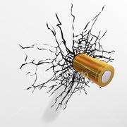 Stock-photo-3855759-bullet-impact