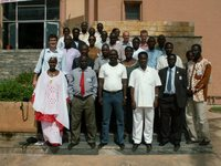 Participants of the training workshop, Dakar, Senegal © Caroline Pollock.