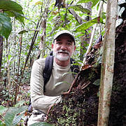 Rodrigo Medellín in Peru (photo: Rodrigo Medellín)