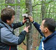 Camera traps Photo: IUCN/A.Ghiurghi