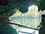 Sohoton Natural Bridge National Park, Phillipines. Photo © Wikipedia.