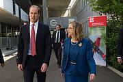 His Royal Highness the Duke of Cambridge and IUCN Director General Inger Andersen Photo: IUCN