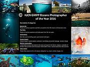 GMPP 2016 photo competition Photo: © IUCN