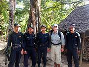 UKNP Ranger Protection Unit and Bill Konstant Photo: IRF