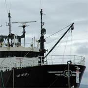Trawler, Hobart harbour, Australia (Photo: Imène Meliane)