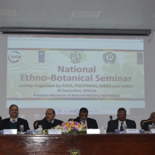 Highlights of Ethnobotanical Seminar. Photo: IUCN Pakistan.