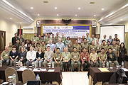 International conservationists, the global zoo community and the Indonesian government at a workshop on species conservation in Bogor, Indonesia. Photo: IUCN