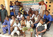 Education and sensitization meeting in Moot on Turtle Island Photo: Augustine Sesay