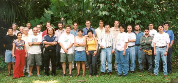 Meso America (merging the Mexico, Guatemala, Honduras, Costa Rica and Panama regions): La Selva, Costa Rica, 11-15 November 2002