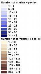 Biodiversity - Legend