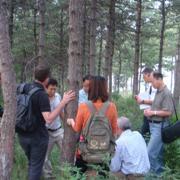 Field trip to Huayuan Field during the Miyun Workshop in Beijing, September 2012. Photo: Liu Xueyan, IUCN China