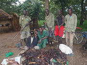 Arresting poachers. Photo: LEO Foundation / Bouba-Ndjidda NP