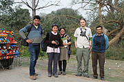 The vulture safe zone team in Uttar Pradesh. Photo: RSPB