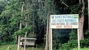 Ecoguard camp at Ivindo National Park, Gabon. Photo: Nathalie van Vliet