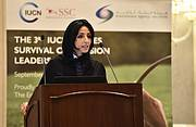 HE Razan Al Mubarak, EAD Secretary General. Photo: EAD
