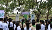 Vulture awareness-raising event conducted by NatureLife Cambodia.Photo: NatureLife Cambodia