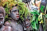 Papua New Guinean culture and conservation will go hand in hand © Mark Hanlin / Tenkile Conservation Alliance