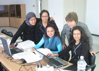 <p>RapidList workshop, Tunisia (photo © Annabelle Cuttelod)</p>