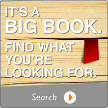 Its a big book. Find what you're looking for. Search.
