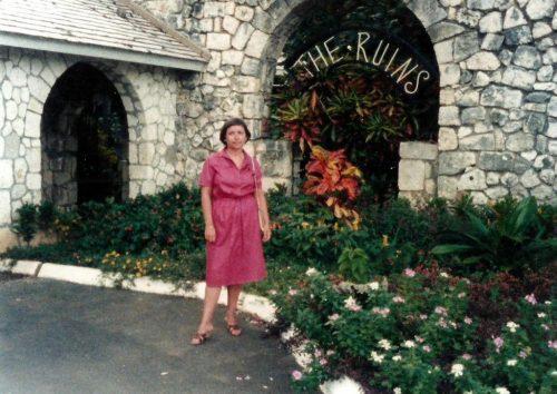 Janvier 1983... en vacances à Ocho Rios en Jamaïque
